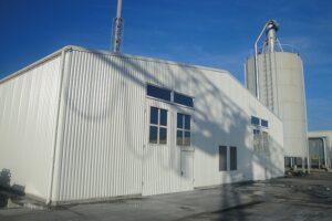 Котельня потужінстю 3МВт на альтернативному виді палива (Завод по виготовленню дахових вікон Fakro)